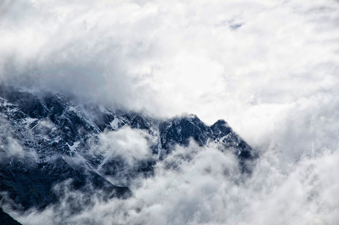 Wind Wave,Mountain,Sky