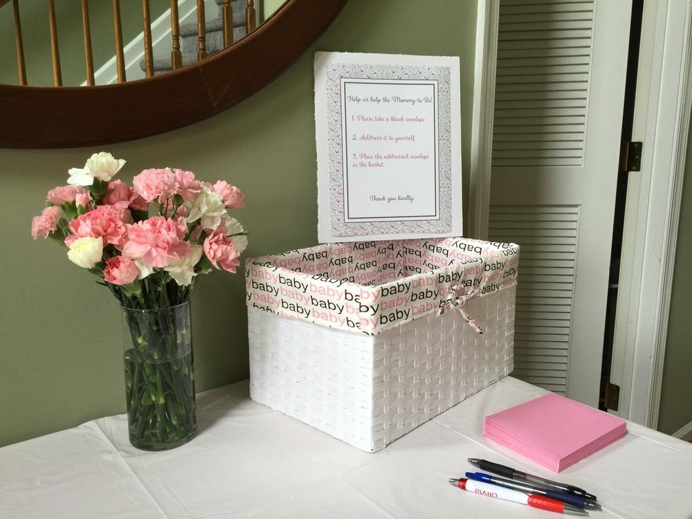 Pink,Box,Baby Shower