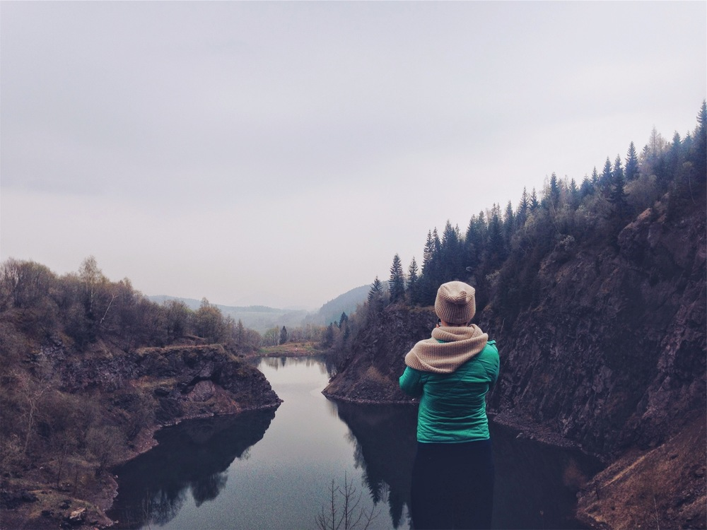 Mountain,Reflection,Reservoir
