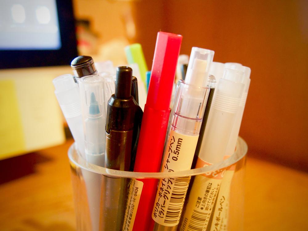 Bottle,Pen,Paper