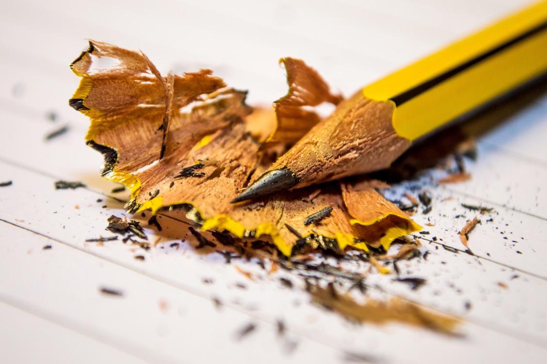 Pencil,Yellow,Macro Photography