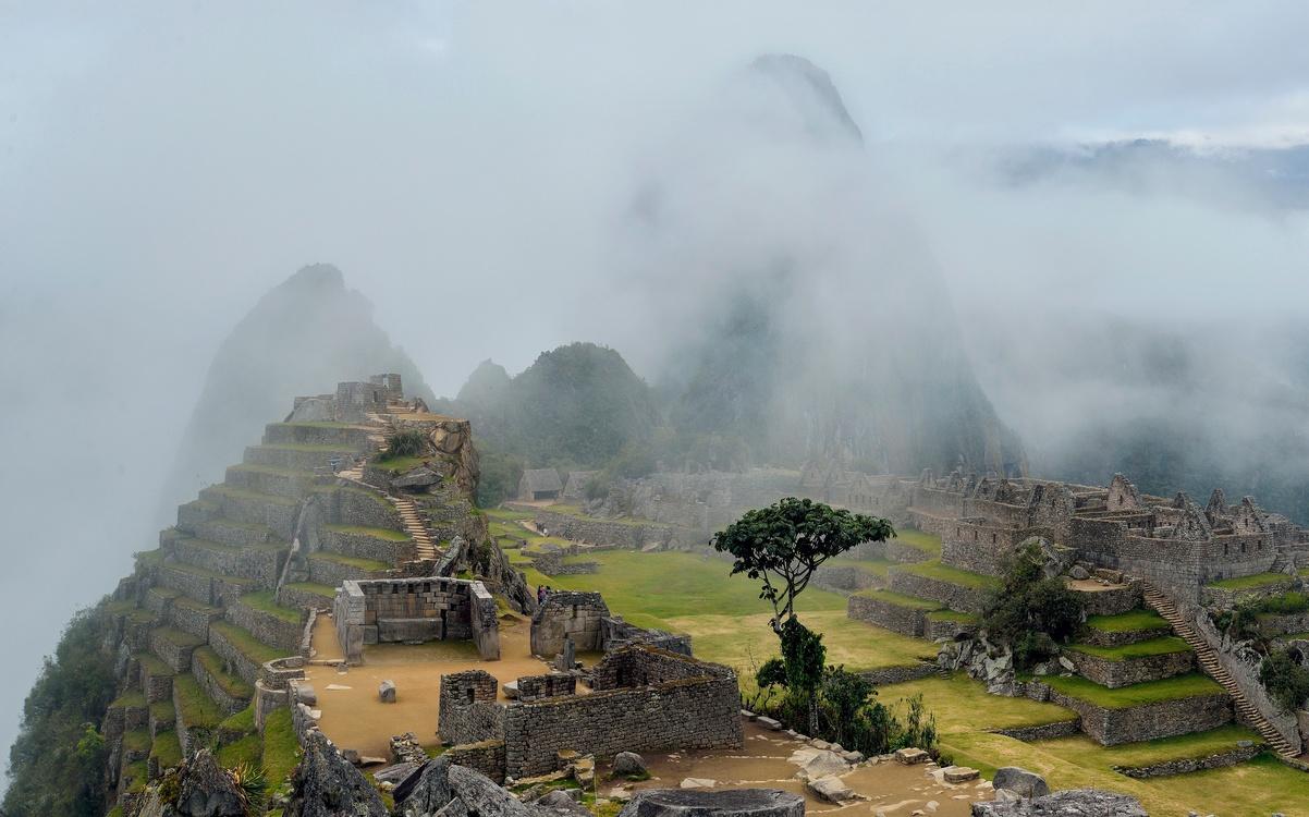 Maya Civilization,Mount Scenery,Village