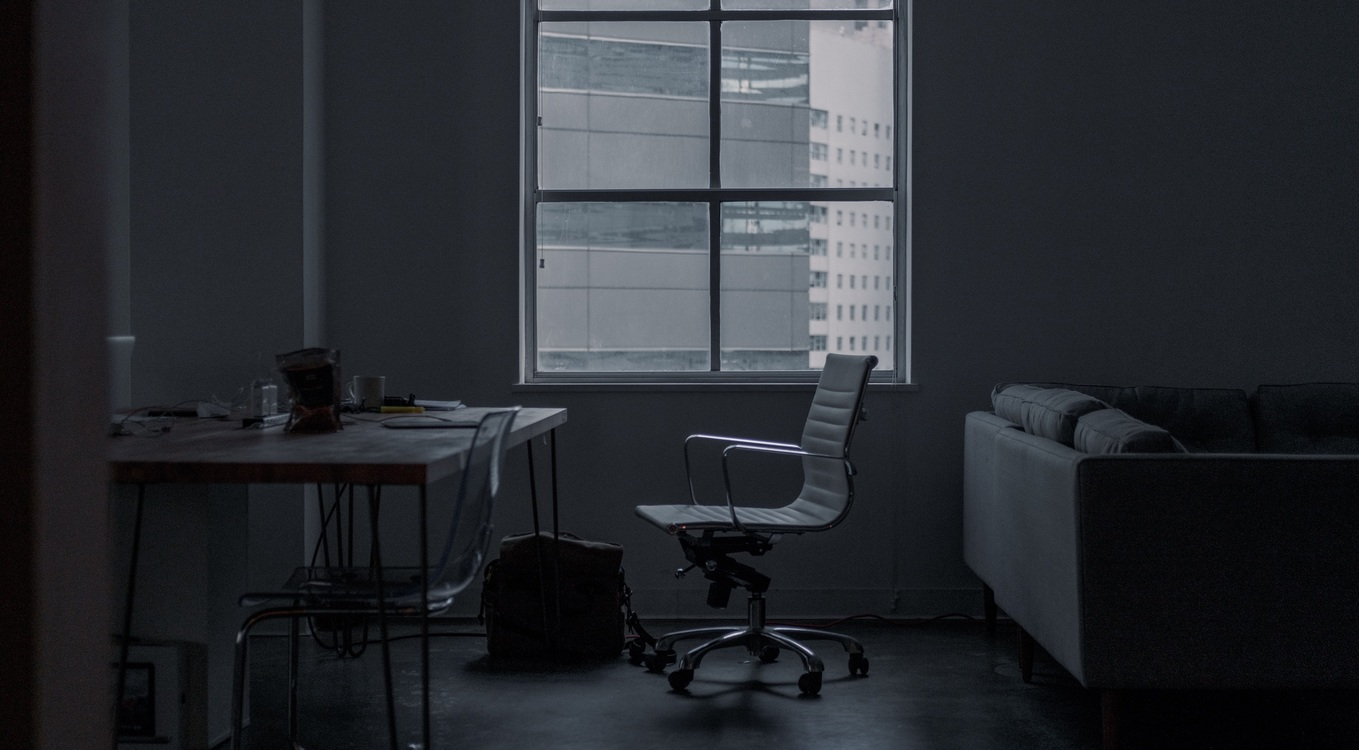 Angle,Darkness,Office