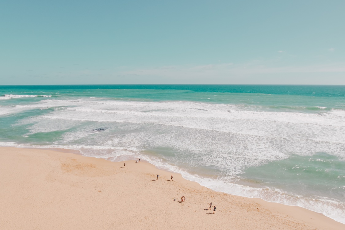 Caribbean,Horizon,Wave