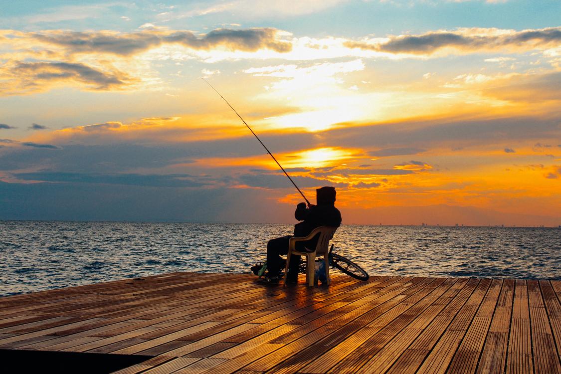Recreation,Evening,Sea