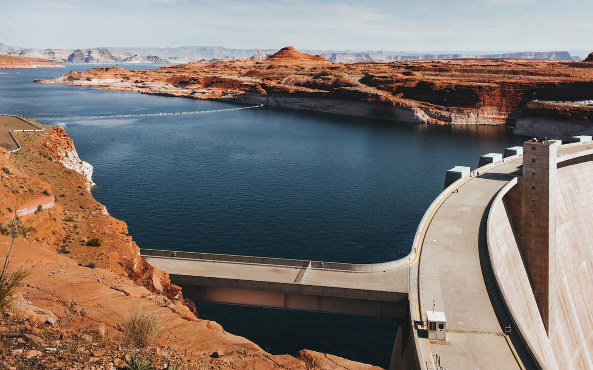 Reservoir,Fixed Link,Sky