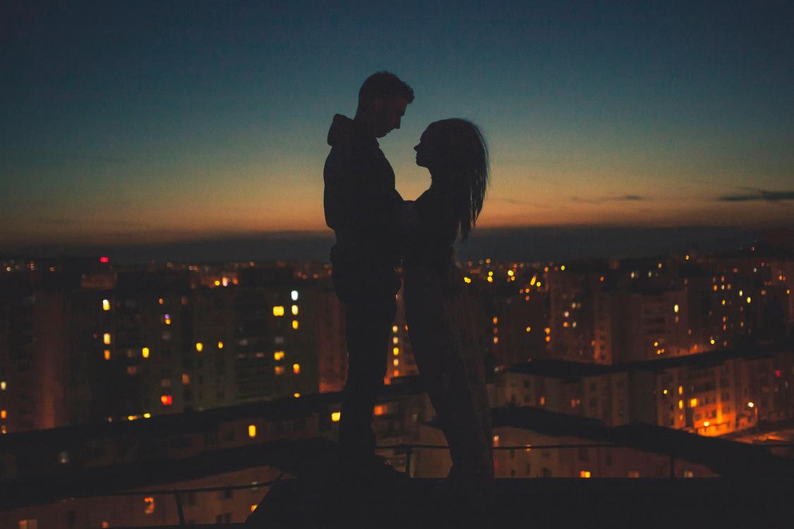 City,Atmosphere,Evening