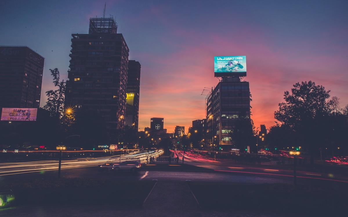 Evening,Metropolitan Area,Dawn