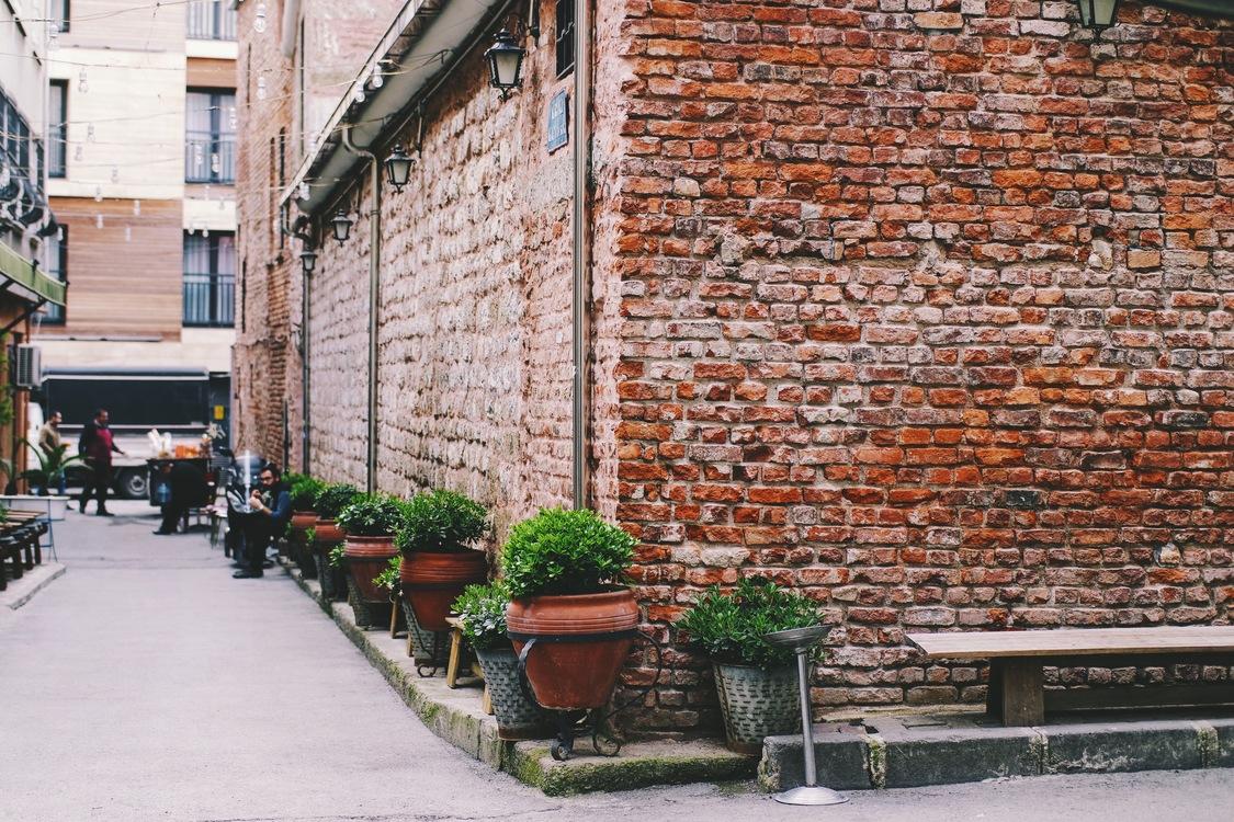 Brickwork,Street,Wall