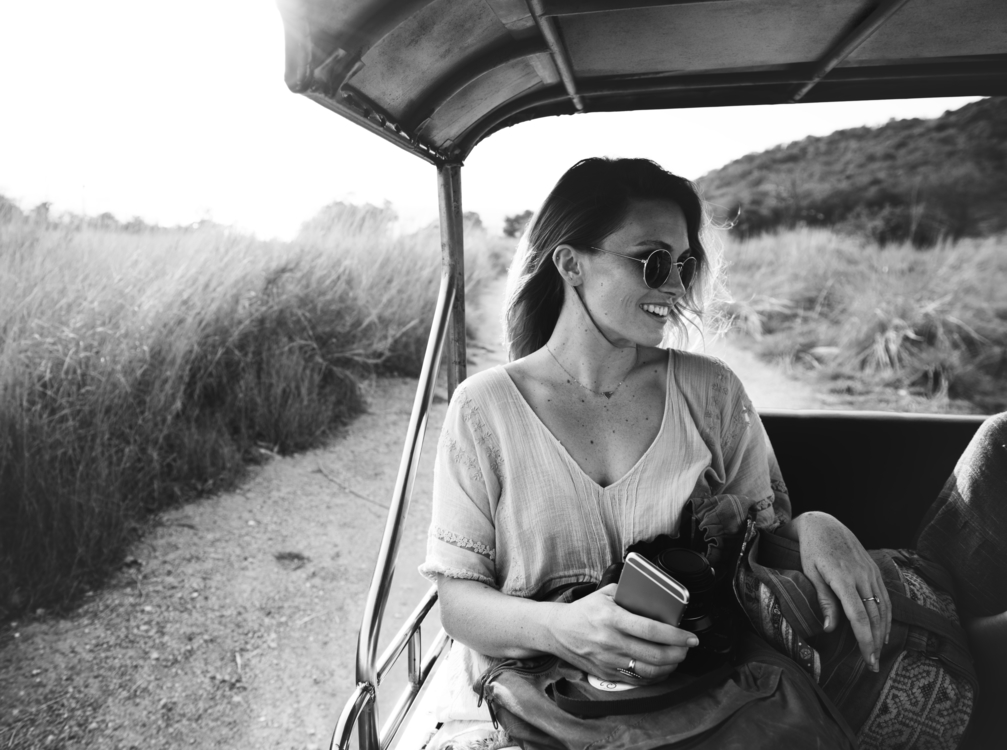 Sunglasses,Monochrome Photography,Car
