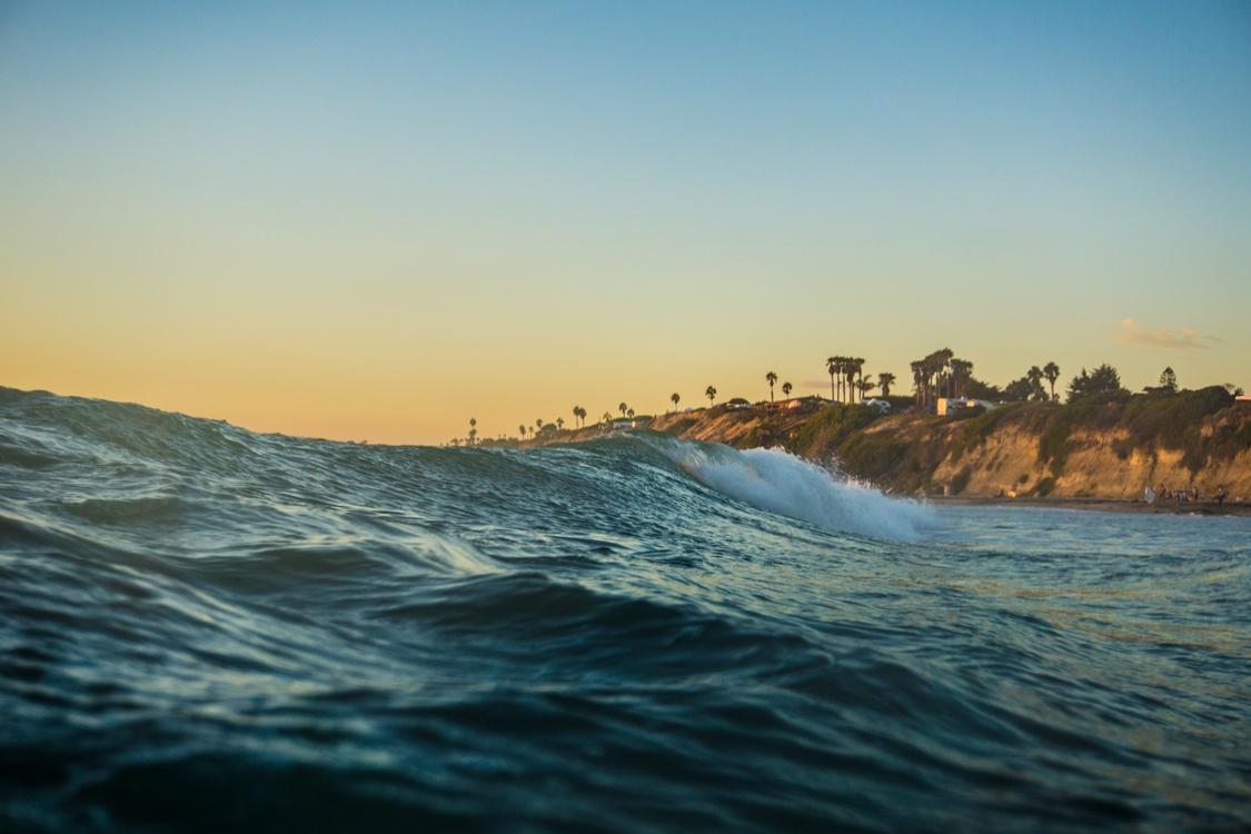 Water,Evening,Horizon