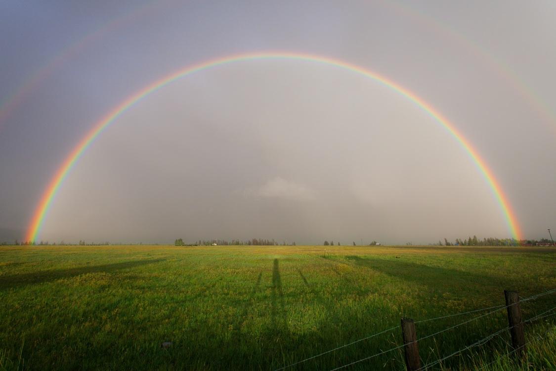 Rainbow,Atmosphere,Sunlight