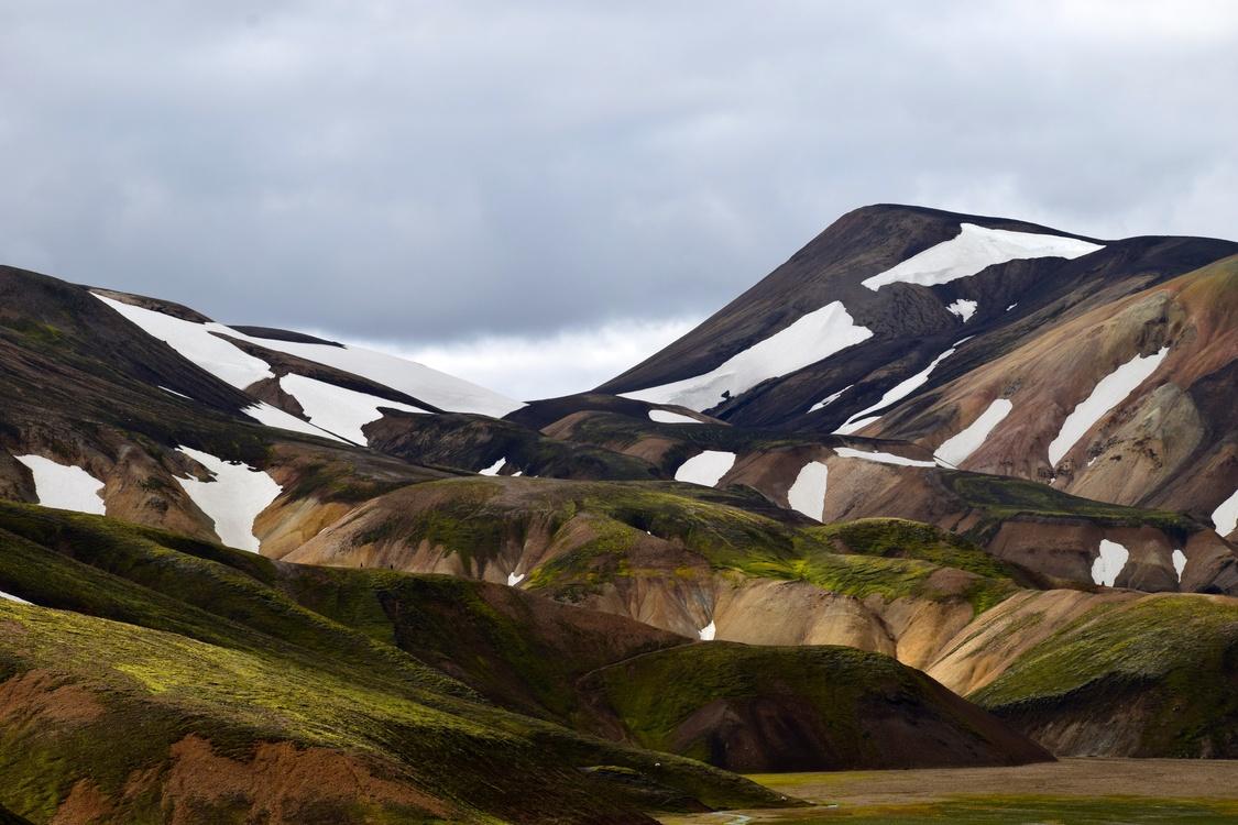 Mountain,Grass,Mountain Range