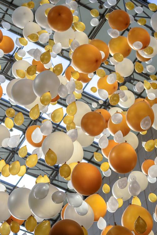 Yellow,Balloon,Party