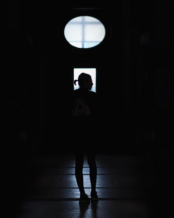 Silhouette,Darkness,Light