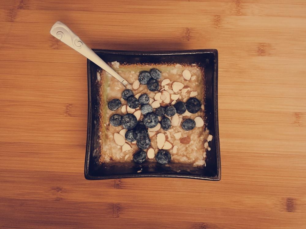 Blueberry,Apple Crisp,Oatmeal