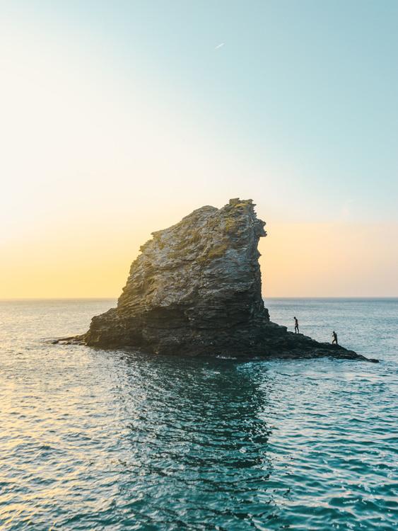Horizon,Skerry,Klippe