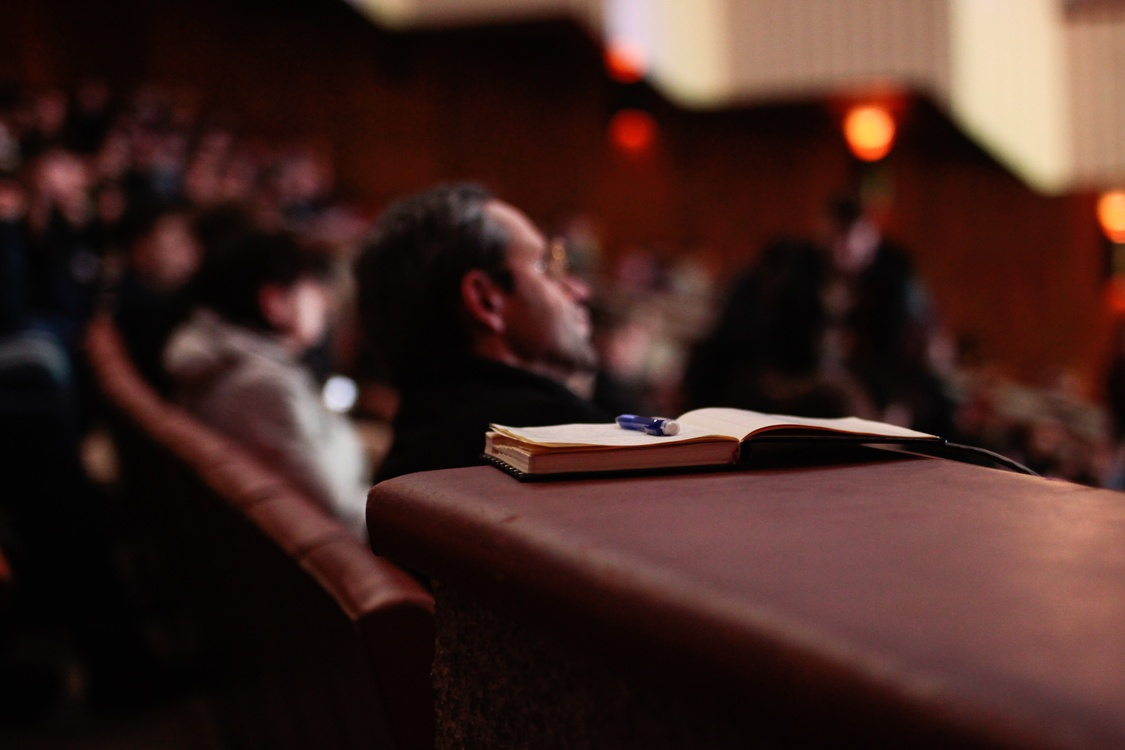 Audience,Lecture,Student