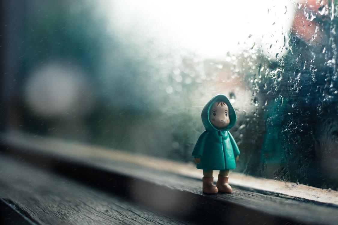 Rain Wet season Child Weather Thunderstorm