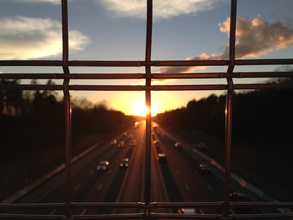 Window Sunrise Glass Light Building