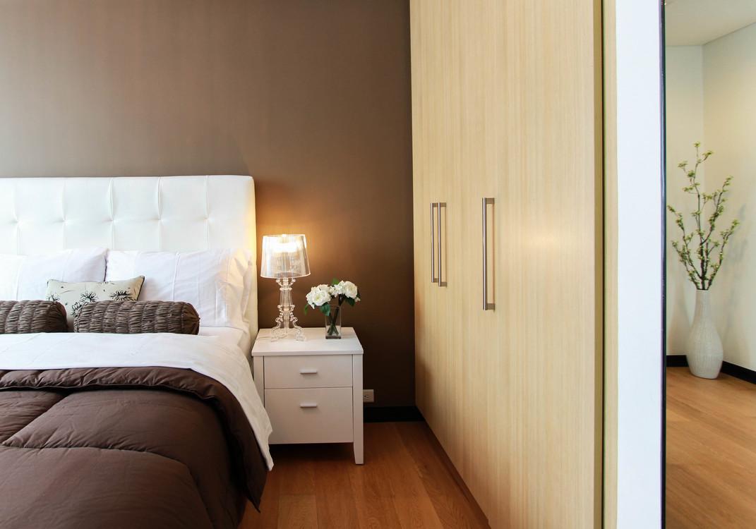 Bed Frame,Door,Room