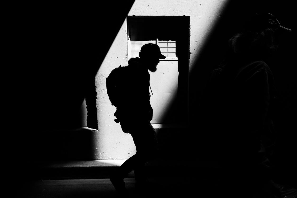 Standing,Silhouette,Darkness