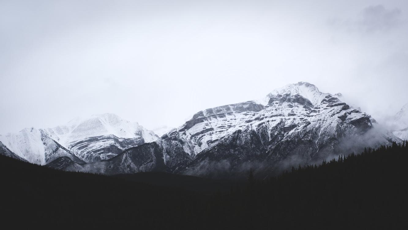 Monochrome Photography,Massif,Mount Scenery