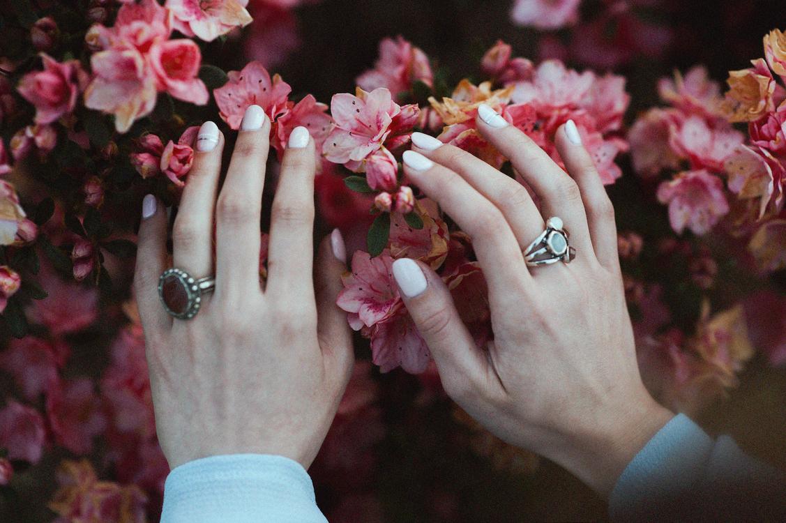 Flower Gel nails Floral design Nail art free images download ...