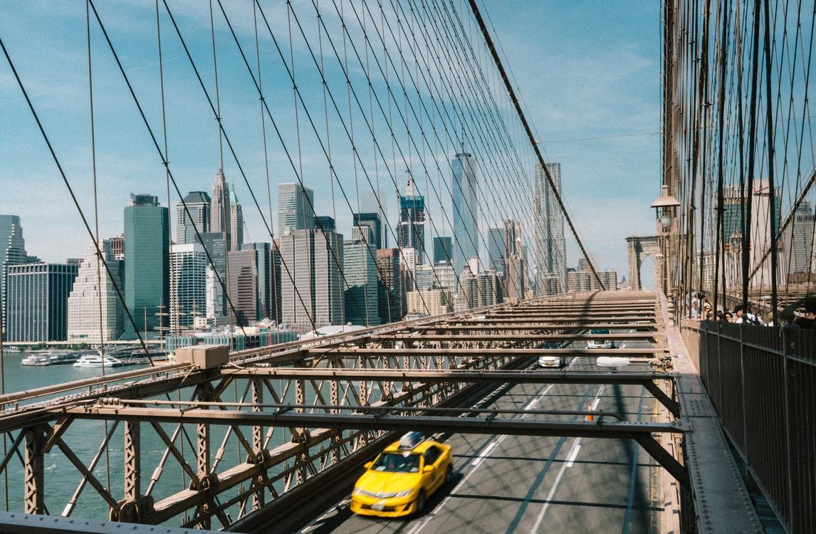 Building,Bridge,Metropolis