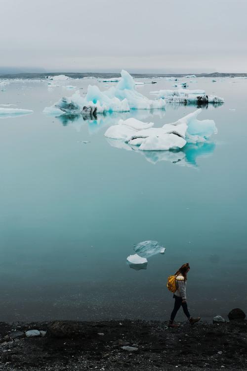 Melting,Iceberg,Calm