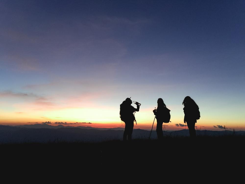 Atmosphere,Evening,Silhouette