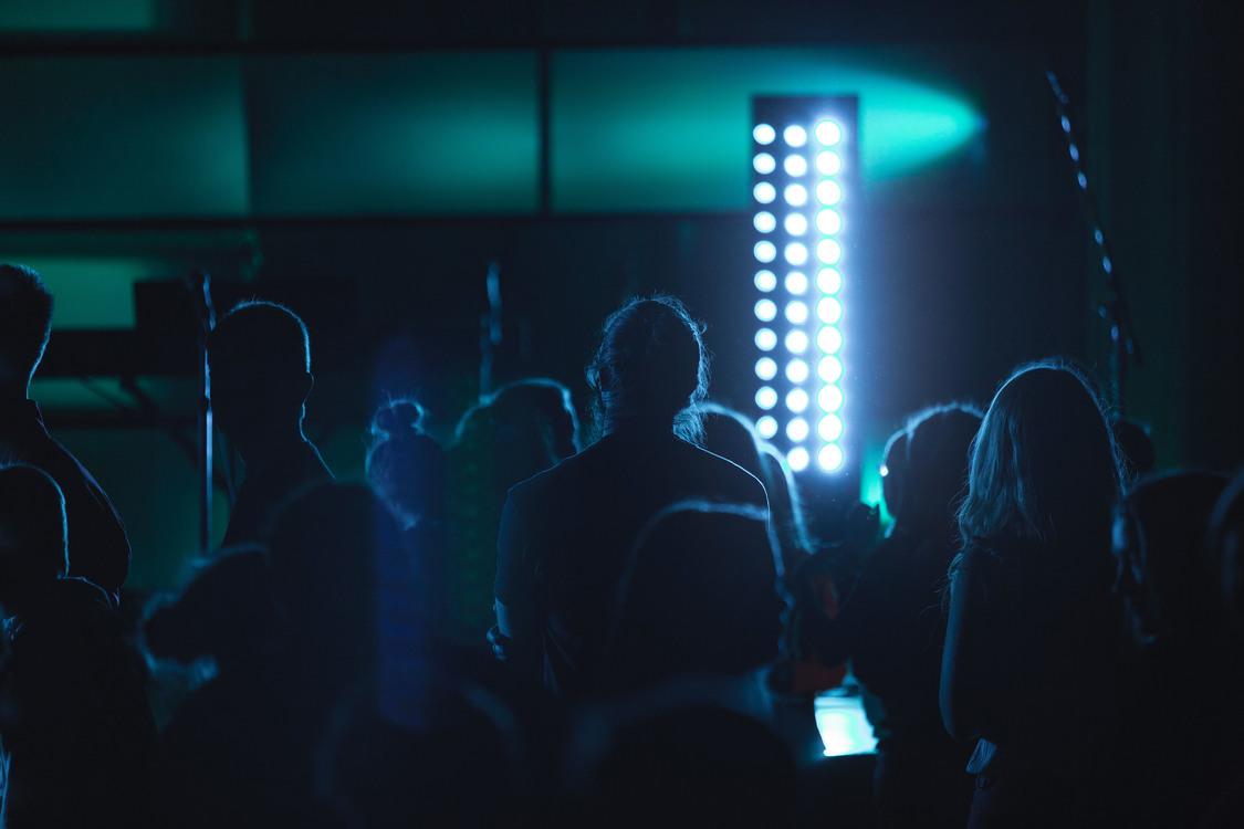 Concert,Crowd,Neon