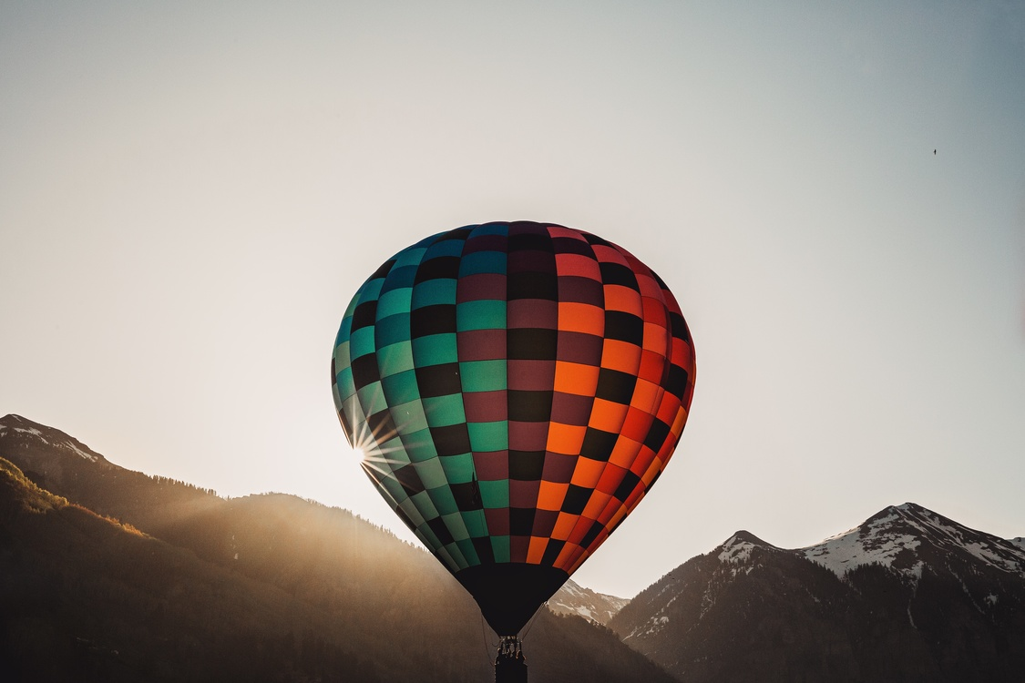 Hot Air Ballooning,Sky,Morning