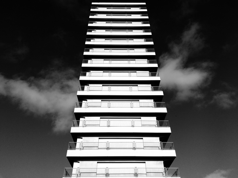 Building,Metropolis,Tower Block