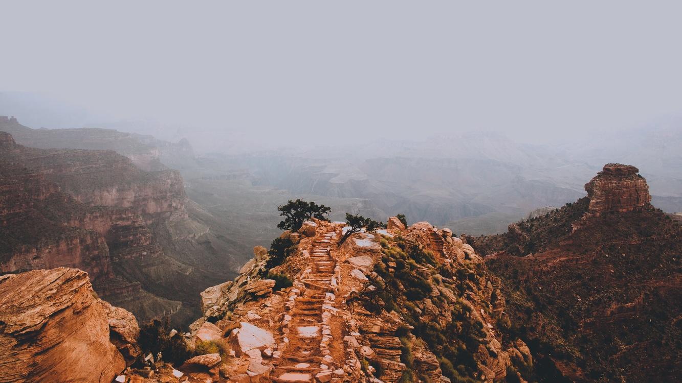 Terrain,Shrubland,Canyon