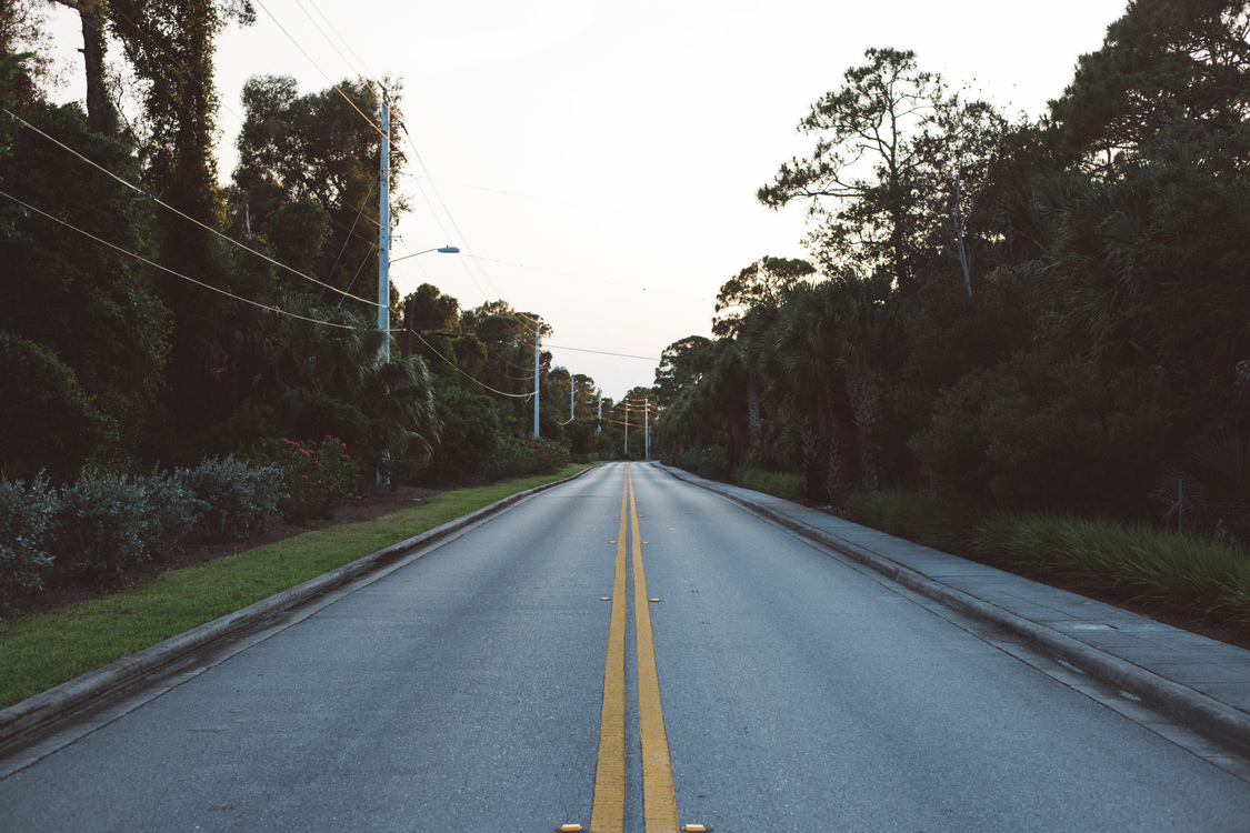 Road Street Asphalt Infrastructure