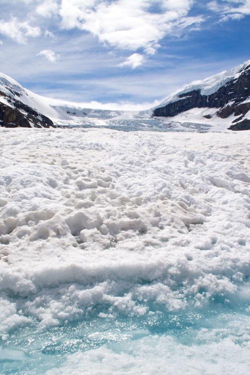 Ice Cap,Mountain Range,Glacial Lake