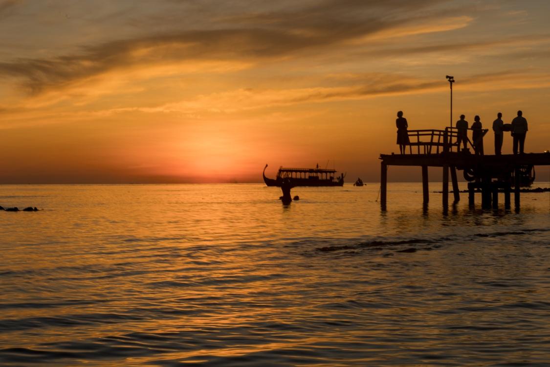 Evening,Horizon,Dusk