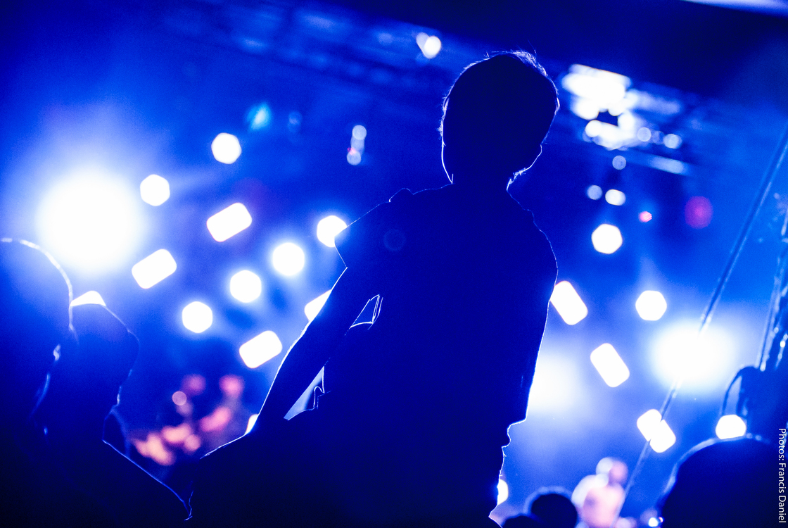 Blue,Darkness,Music Venue