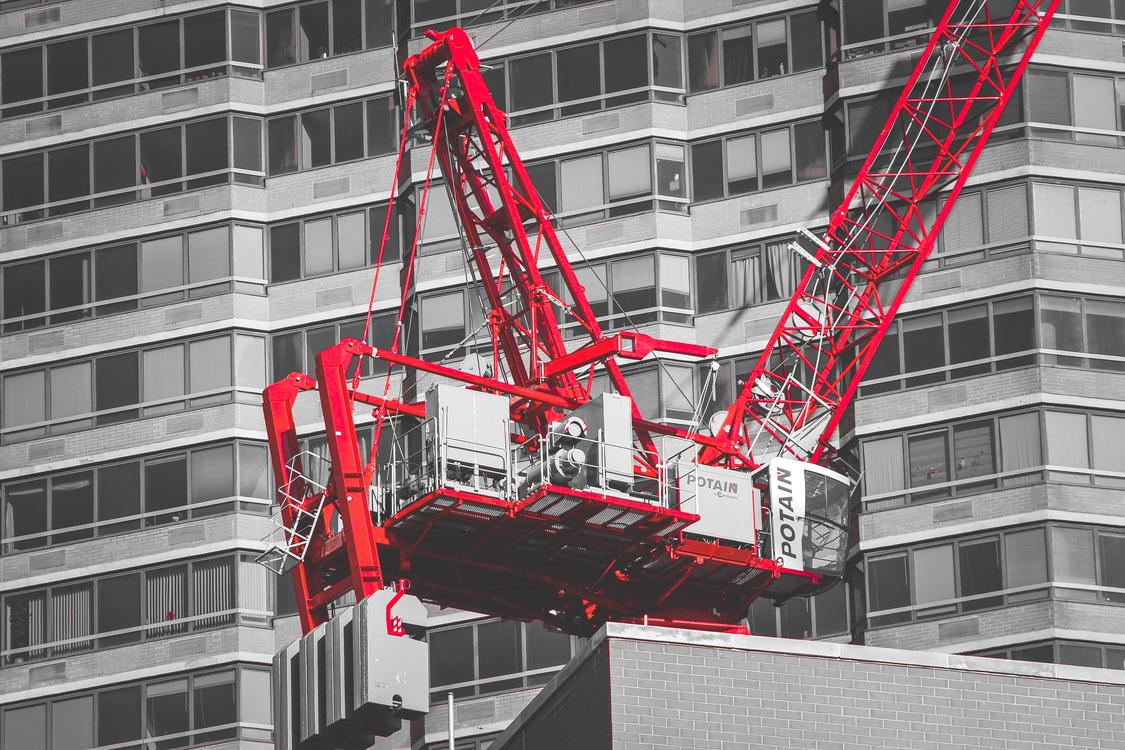Building,Metropolis,Construction Equipment