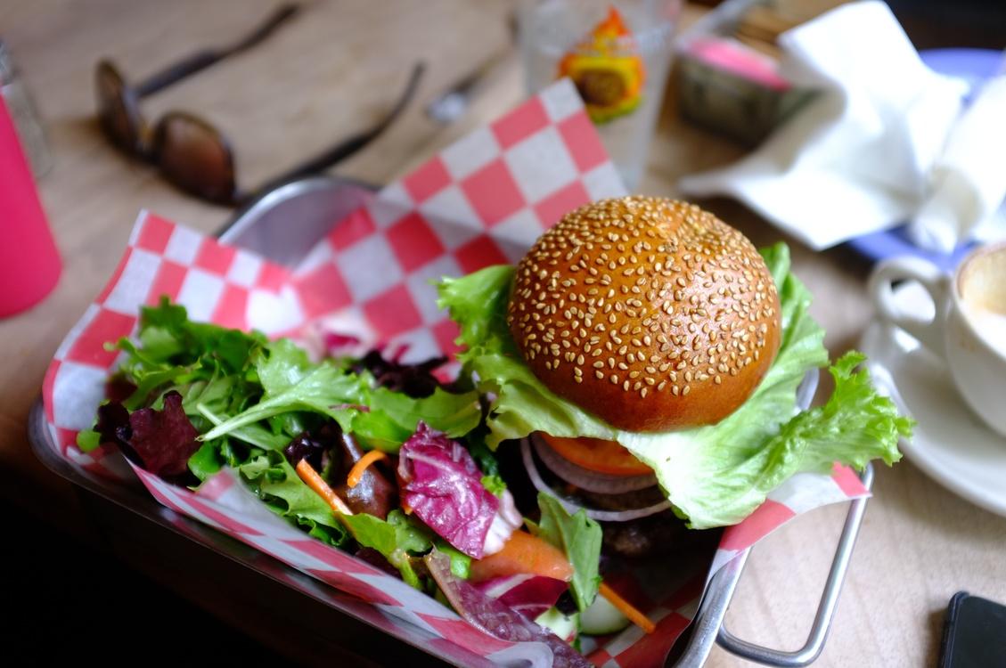Cuisine,Vegetarian Food,Hamburger