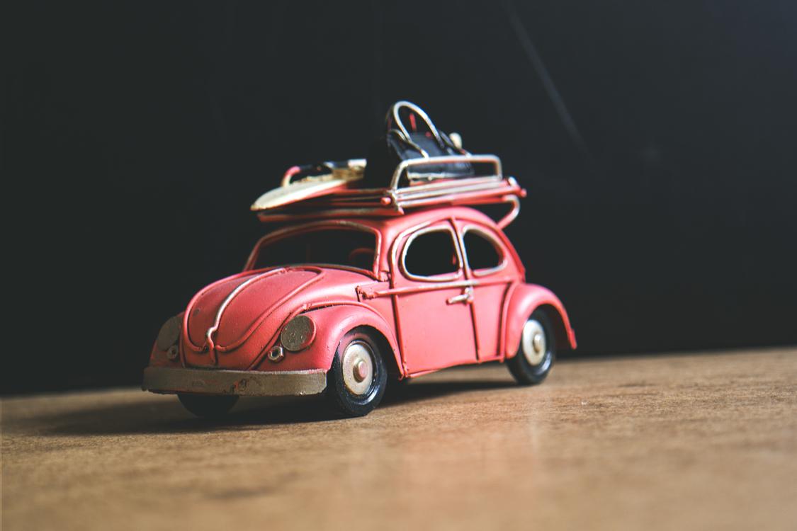 Pink,Volkswagen Beetle,Compact Car