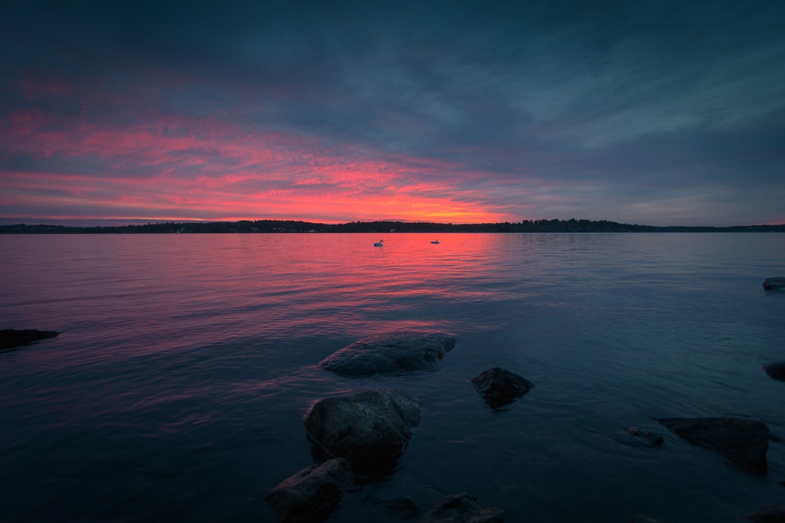 Atmosphere,Red Sky At Morning,Loch