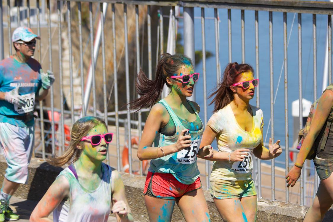 The Color Run Running 5K run Jogging