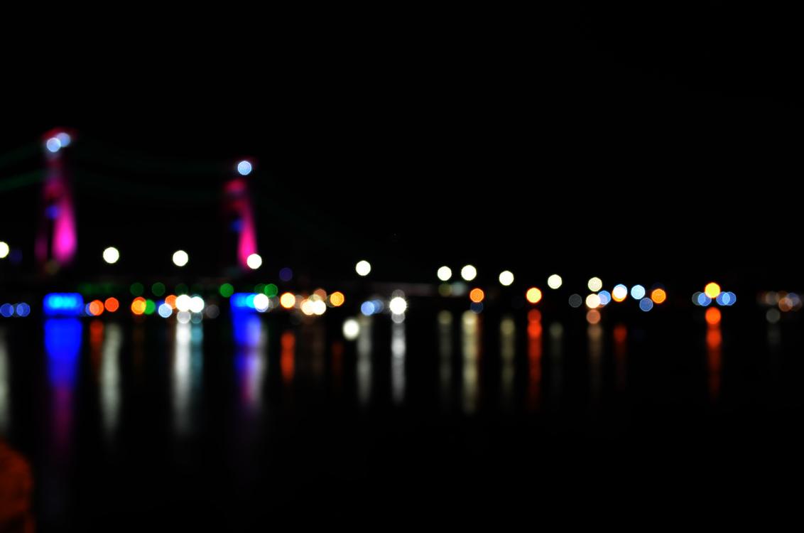 Bokeh Light Hotel Christmas