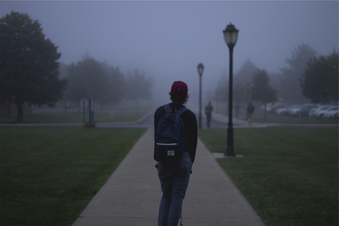 Street Light,Atmosphere,Mist