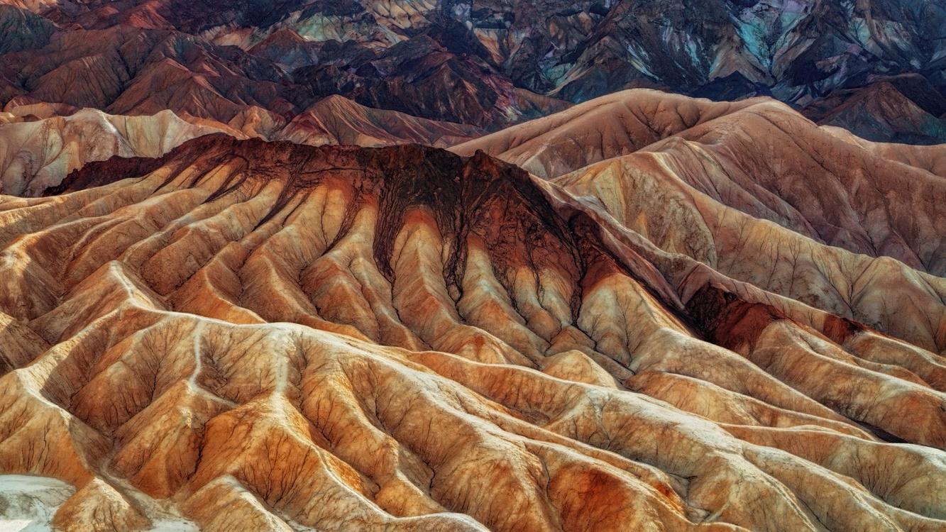 Soil,Mountain,Badlands
