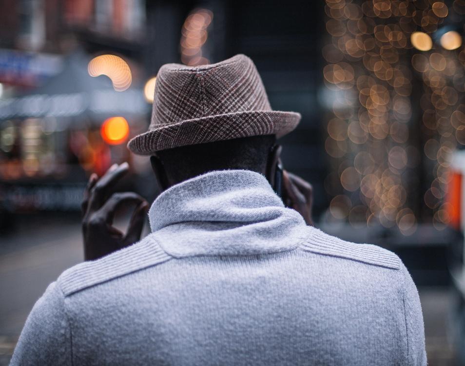 Gentleman,Hat,Fedora