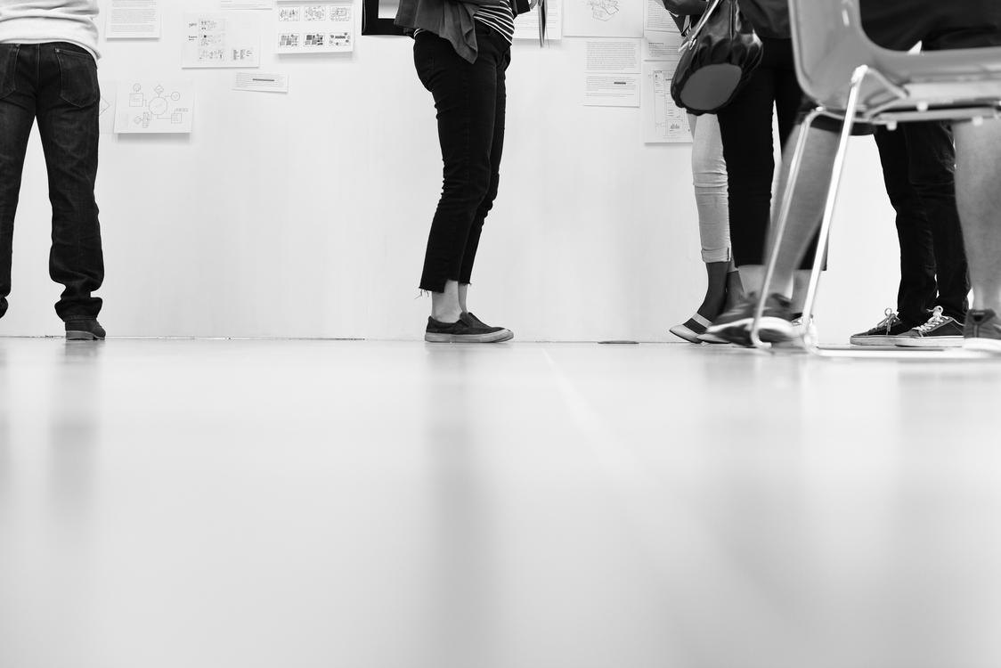 Standing,Angle,Flooring