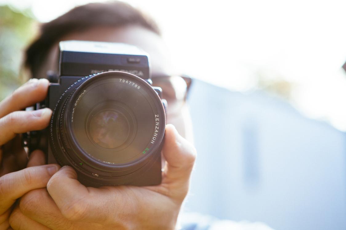 Single Lens Reflex Camera,Close Up,Film Camera
